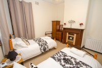 Tastefully appointed Twin rooms  (Three available)