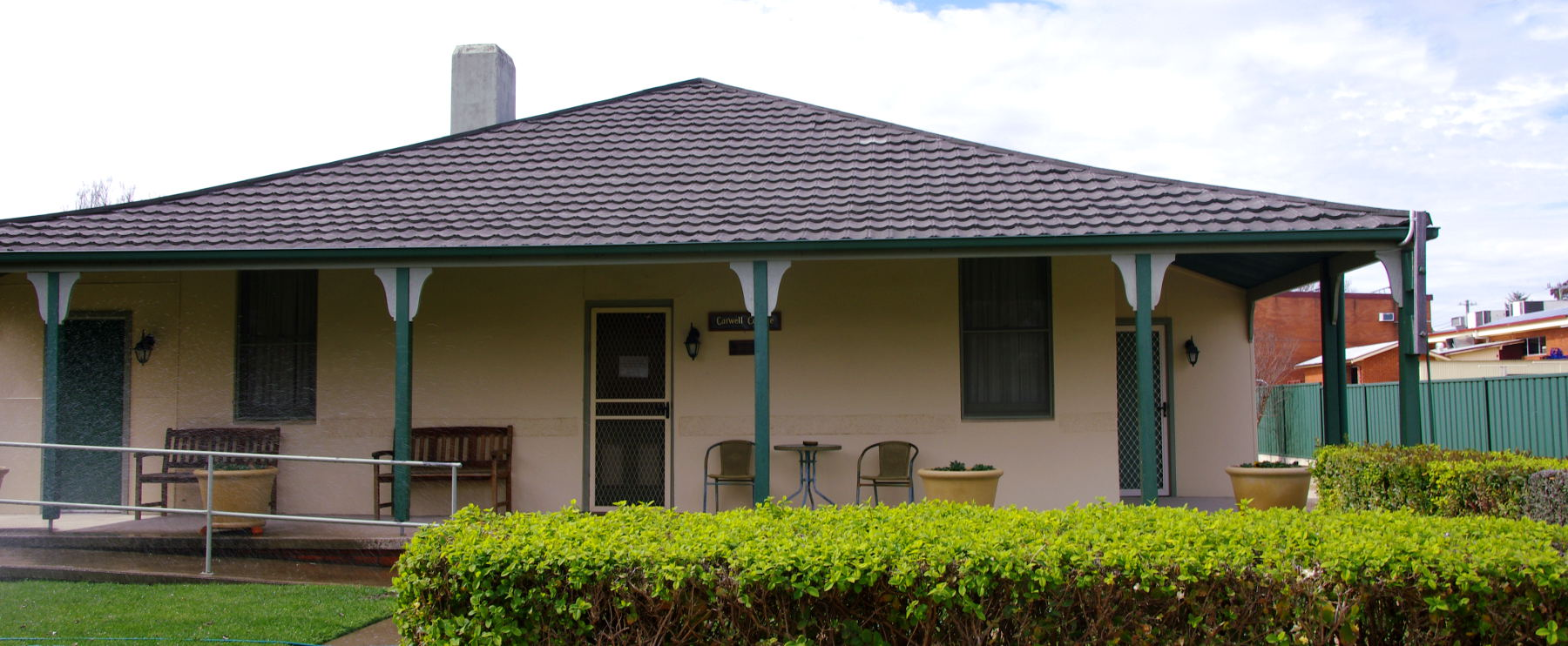 Carwell Cottage, Rylstone accommodation - built 1929
