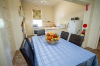 Enjoy a meal cooked in the fully equipped kitchen