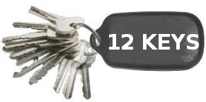 12 Keys Raffle at The Rylstone Club