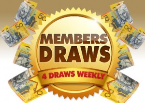 The Rylstone Club Members Draw Friday nights
